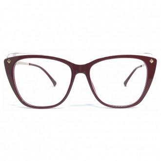 Óculos De Grau Liv 7004 Vermelho