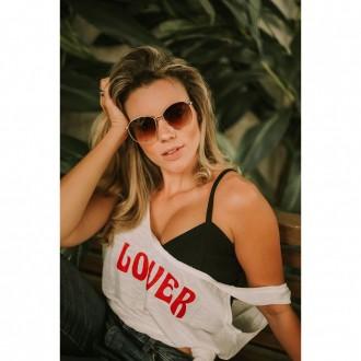 Óculos De Sol Liv Aloha Marrom