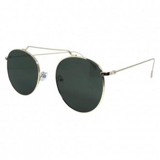 Óculos de Sol Liv Fortaleza Dourado e Verde