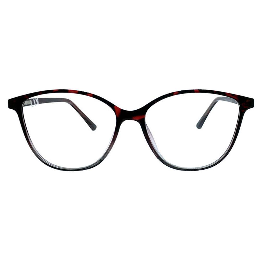 Óculos De Grau Liv 6008 Preto E Vermelho