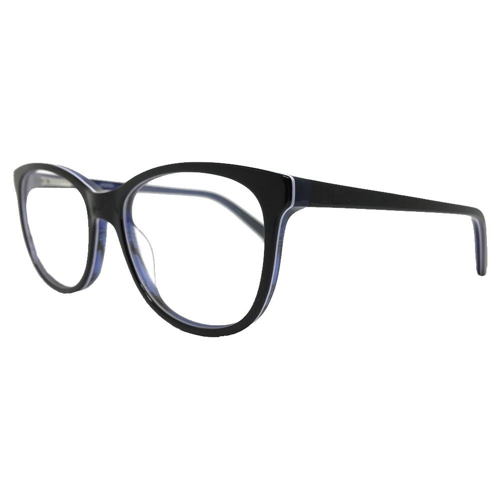 Óculos De Grau Liv 6392 Preto e azul
