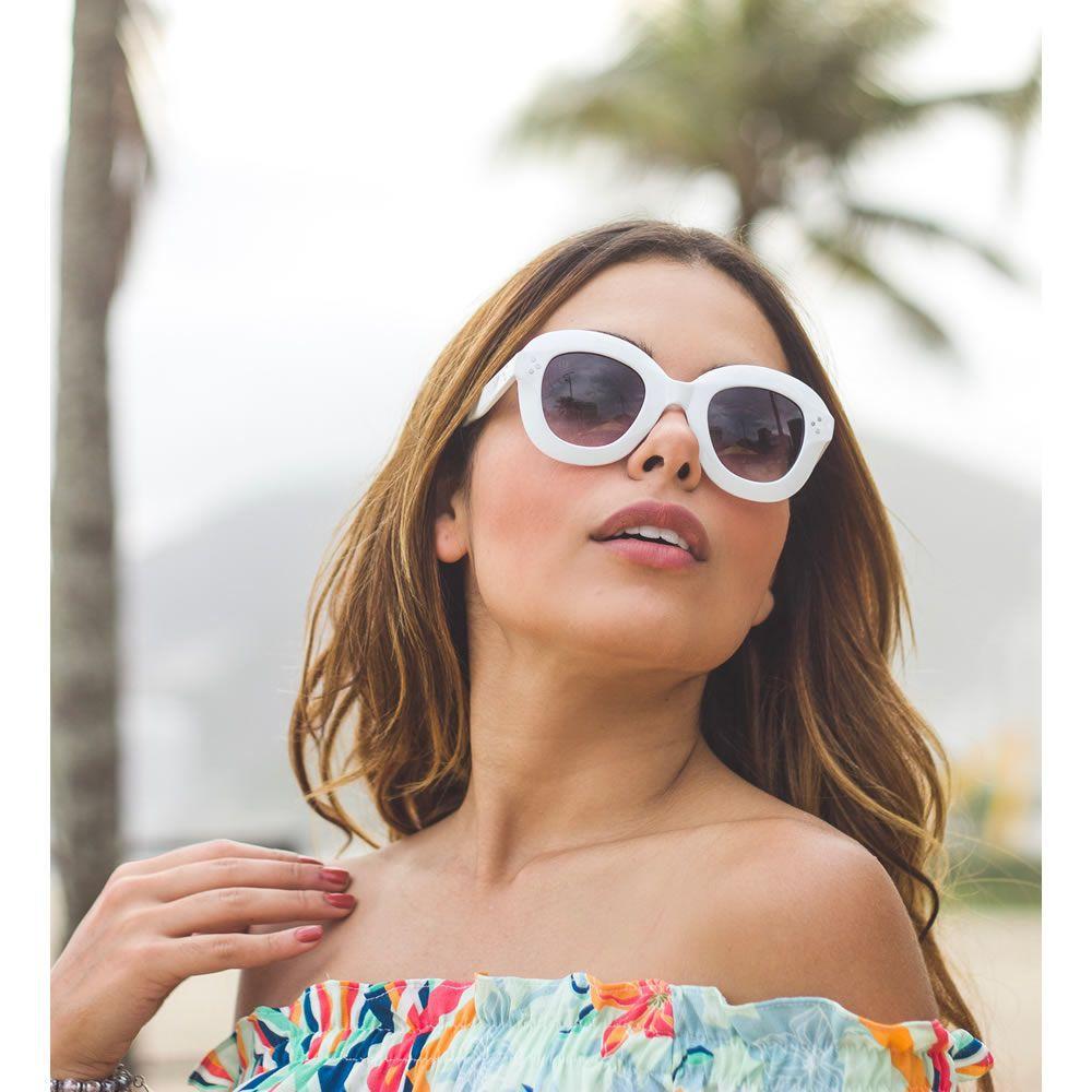 Óculos De Sol Liv Copacabana Branco