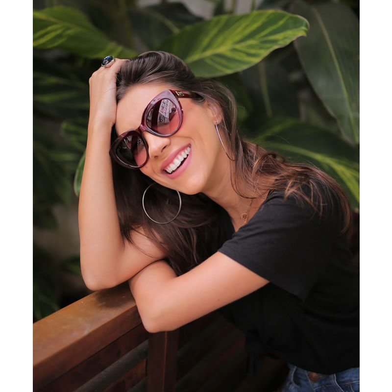 Óculos De Sol Liv Floripa