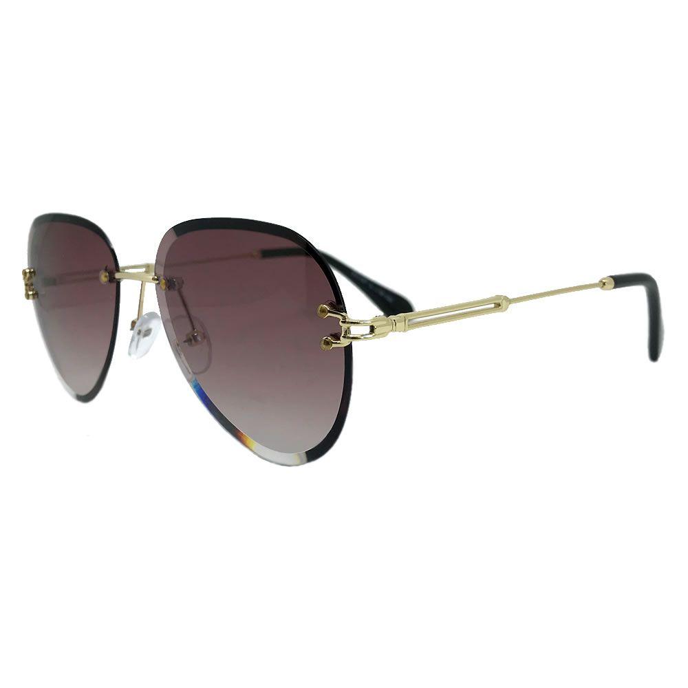 Óculos De Sol Liv Relax Marrom