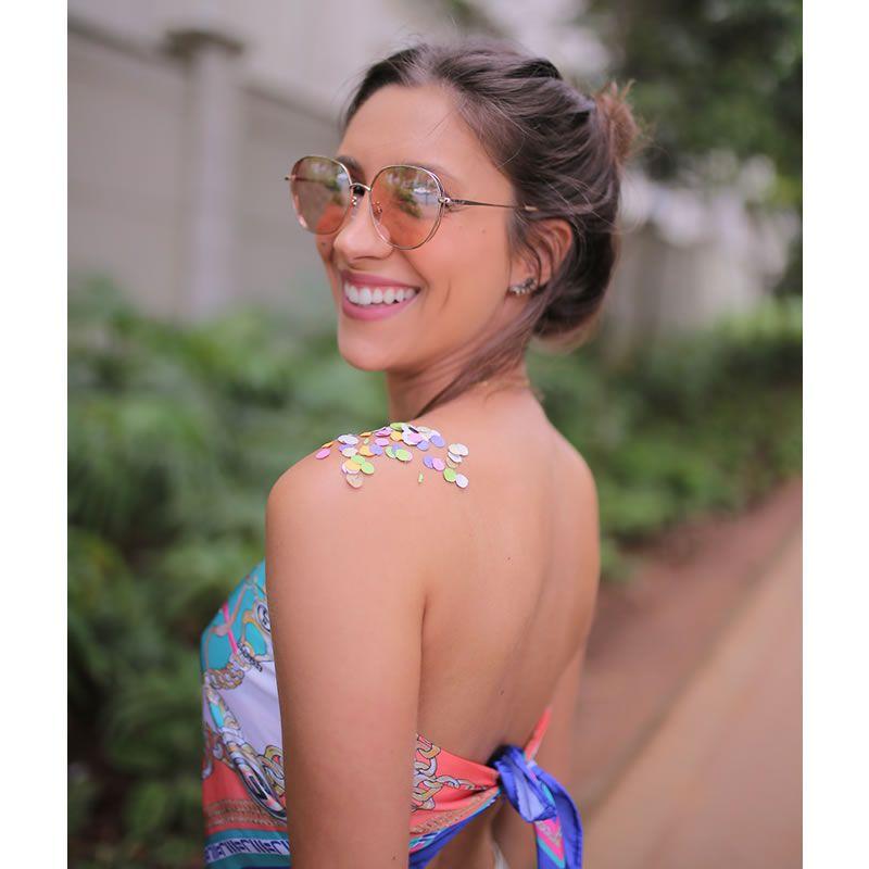 Óculos De Sol Liv Salvador Rosa