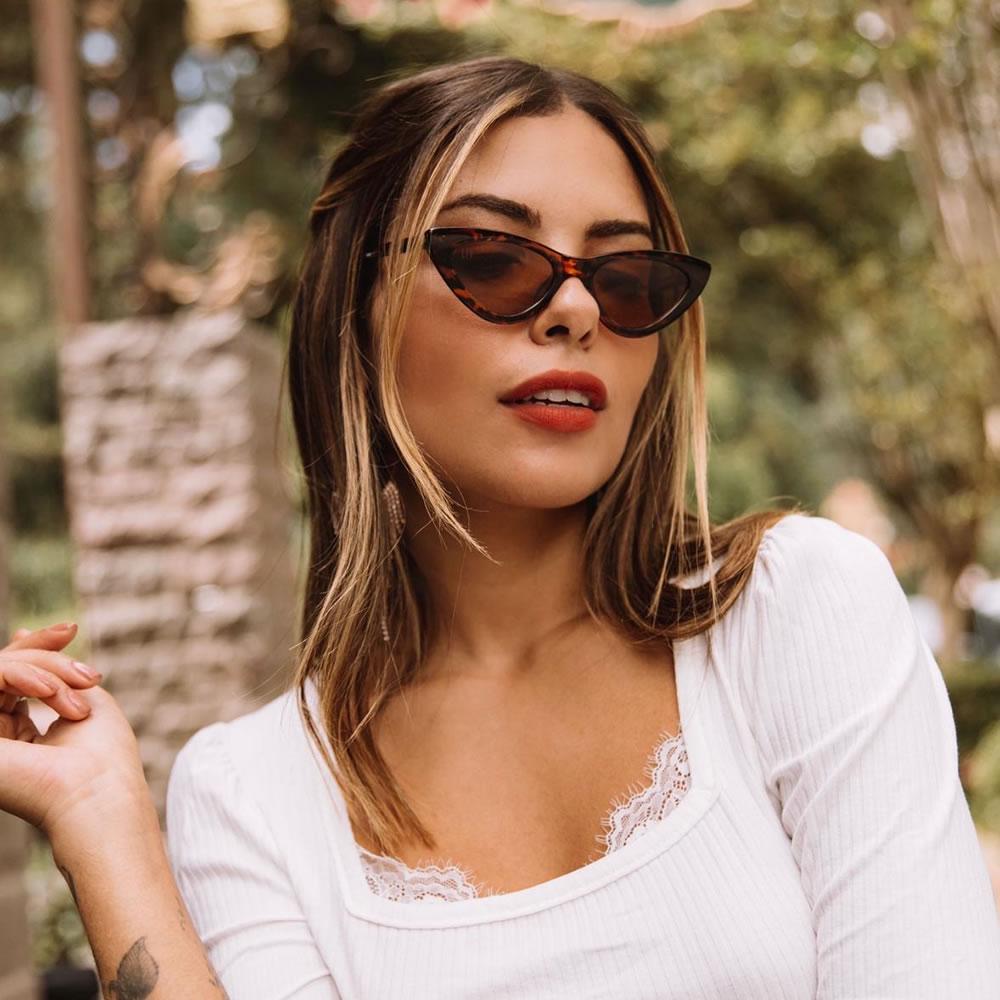 Óculos De Sol Liv Sophia Tartaruga