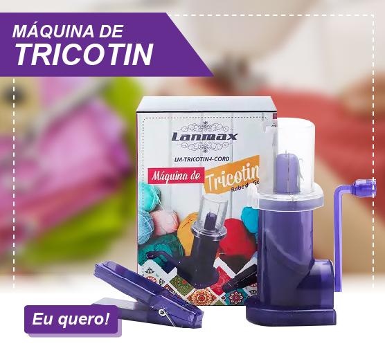 máquina de tricotin