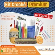 Kit Crochê Premium