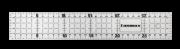 Régua Acrílica 05x30cm