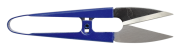 Tesoura de Arremate com cabo de metal Azul Lanmax 10,6mm