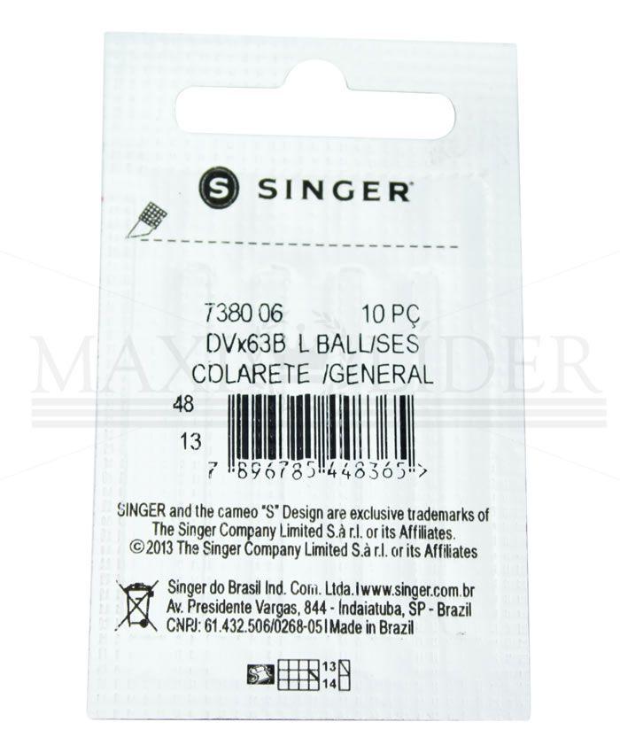 Agulha Industrial Singer 7380 - PCT C/ 10