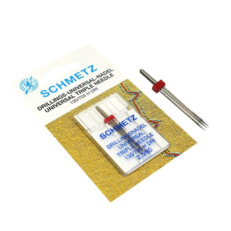 Agulha Tripla Schmetz 2.5mm/3.0mm