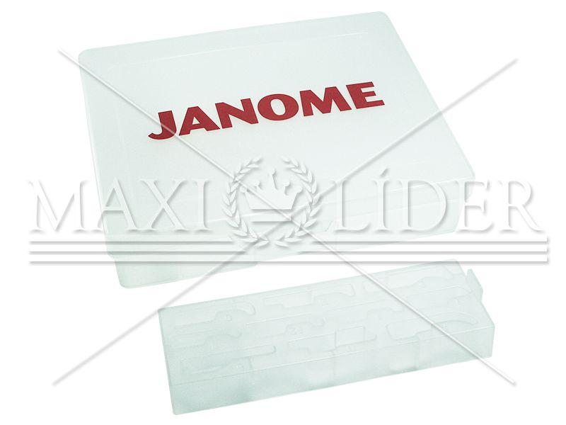 Caixa para calcadores e acessórios Janome