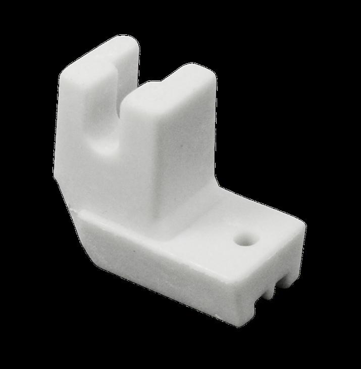 Calcador Plástico Zíper Invisível Doméstico