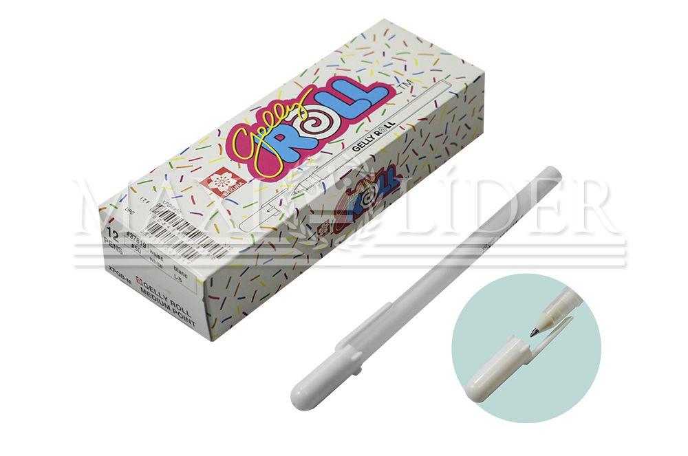 Caneta Sakura Gelly Roll Branco (UNIDADE)