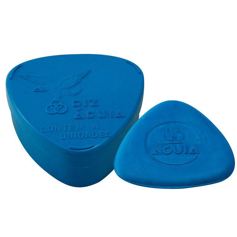 Giz Águia c/4 triangular Azul