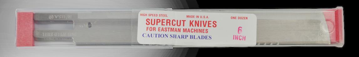 """Faca Modelo Eastman 6"""" Aço Rápido - Americana - Unidade"""
