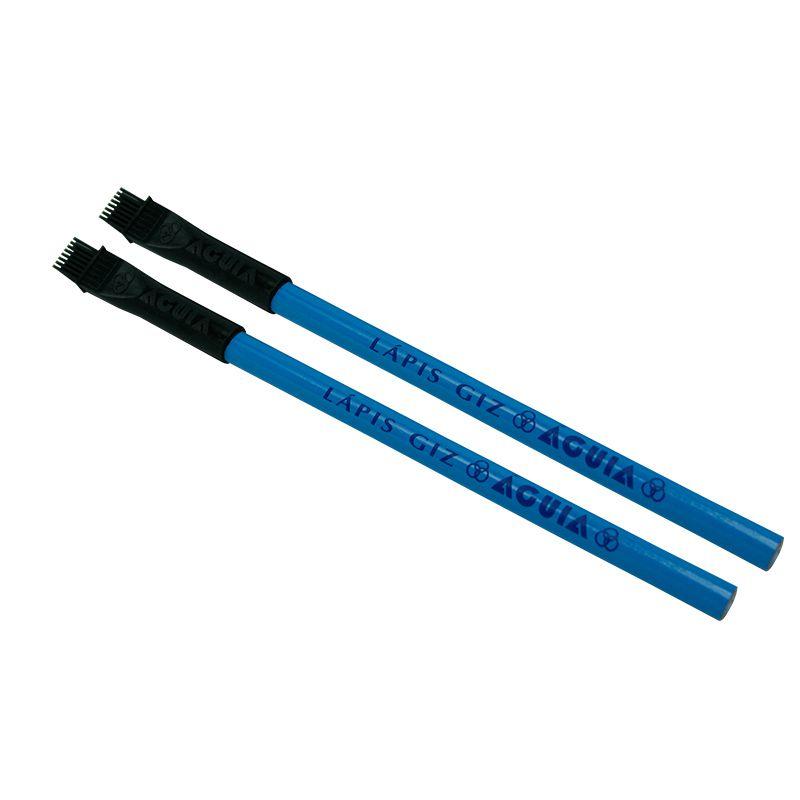 Giz Lápis Águia c/2 Azul