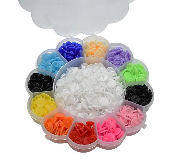 Kit Botões de Plástico com 180 Botões Lanmax