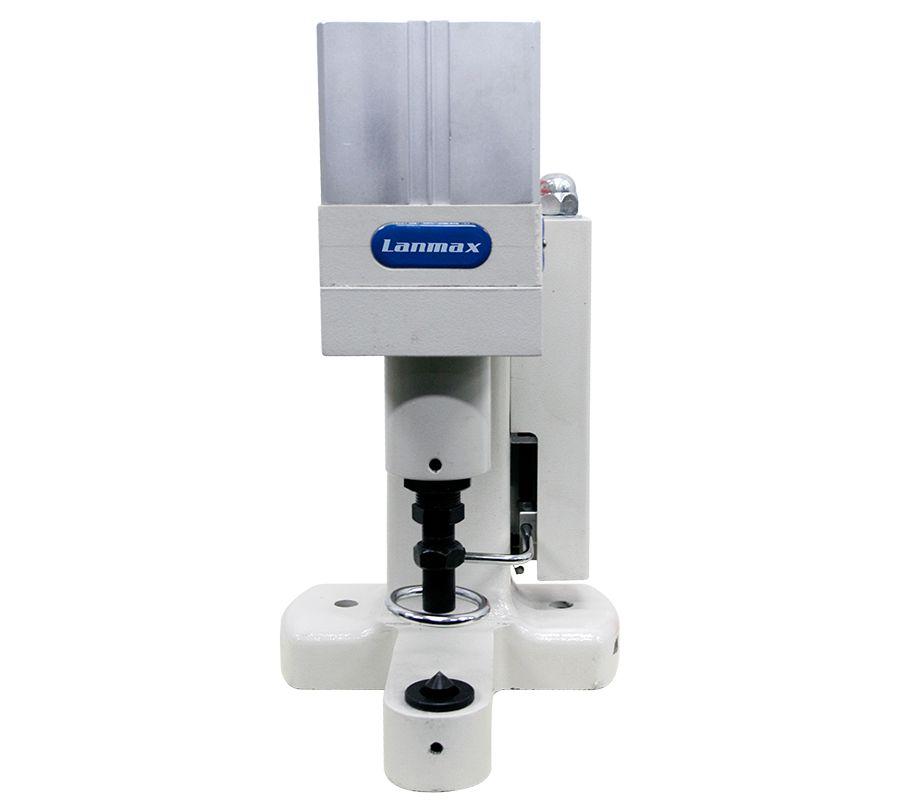 Máquina para pregar botão e ilhós Lanmax LM8816 (VENDA SOB CONSULTA)