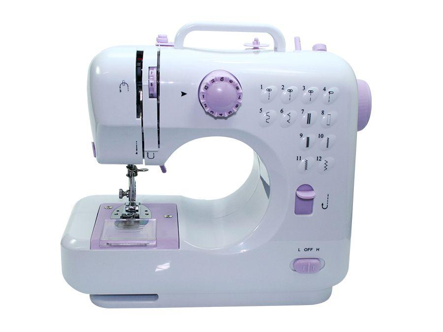 Mini Máquina de Costura Lanmax Bivolt 12 pontos