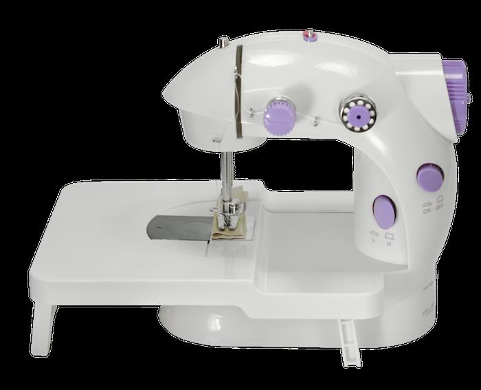 Mini Máquina de Costura Lanmax Bivolt LMD-202 c/ mesa extensora