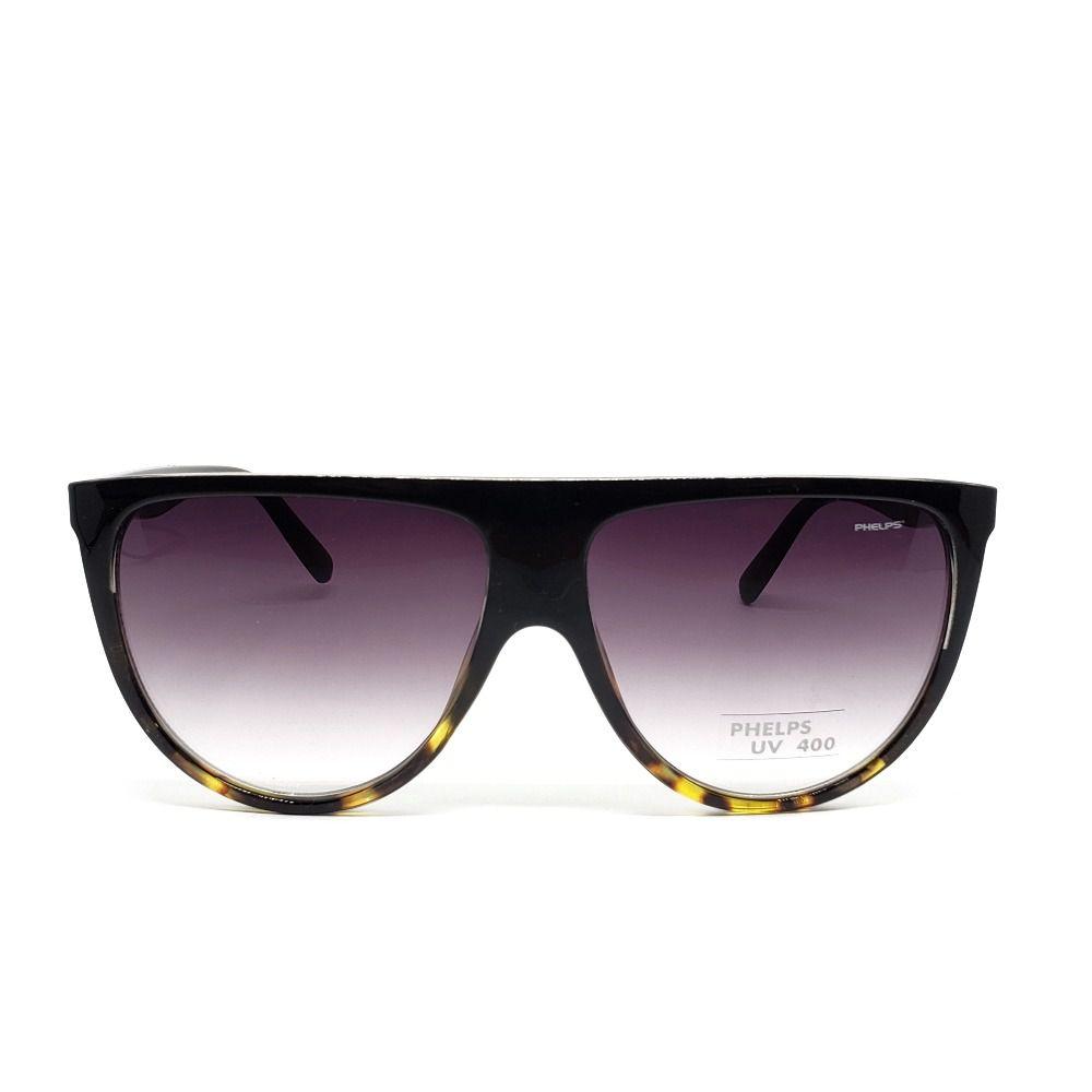 Óculos de Sol Phelps - Preto com onça