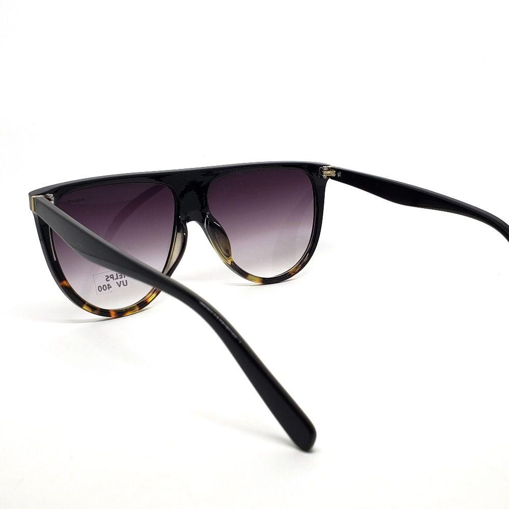4a9b2923c ... Óculos de Sol Phelps - Preto com onça - Lahe Calçados ...
