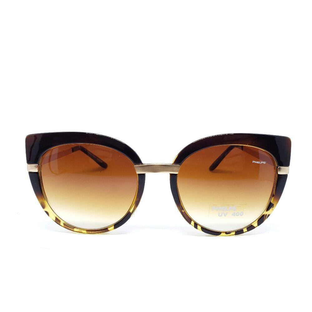 50e70cde0 Óculos de Sol Phelps - Gatinho Onça - Lahe Calçados ...