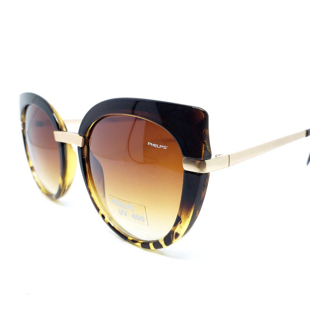 00b8f080a ... Óculos de Sol Phelps - Gatinho Onça - Lahe Calçados
