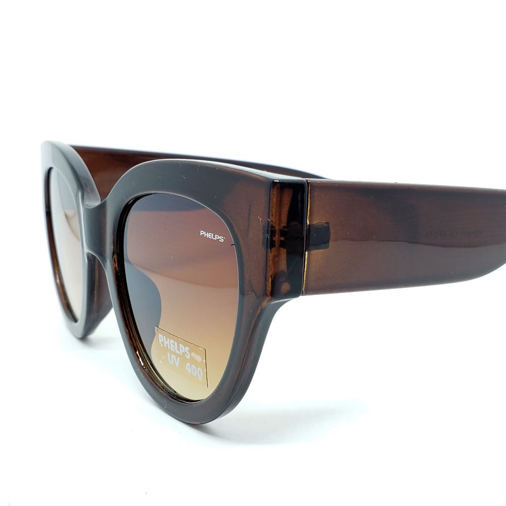 9d39445bd ... Óculos de Sol Phelps - Marrom Large - Lahe Calçados ...