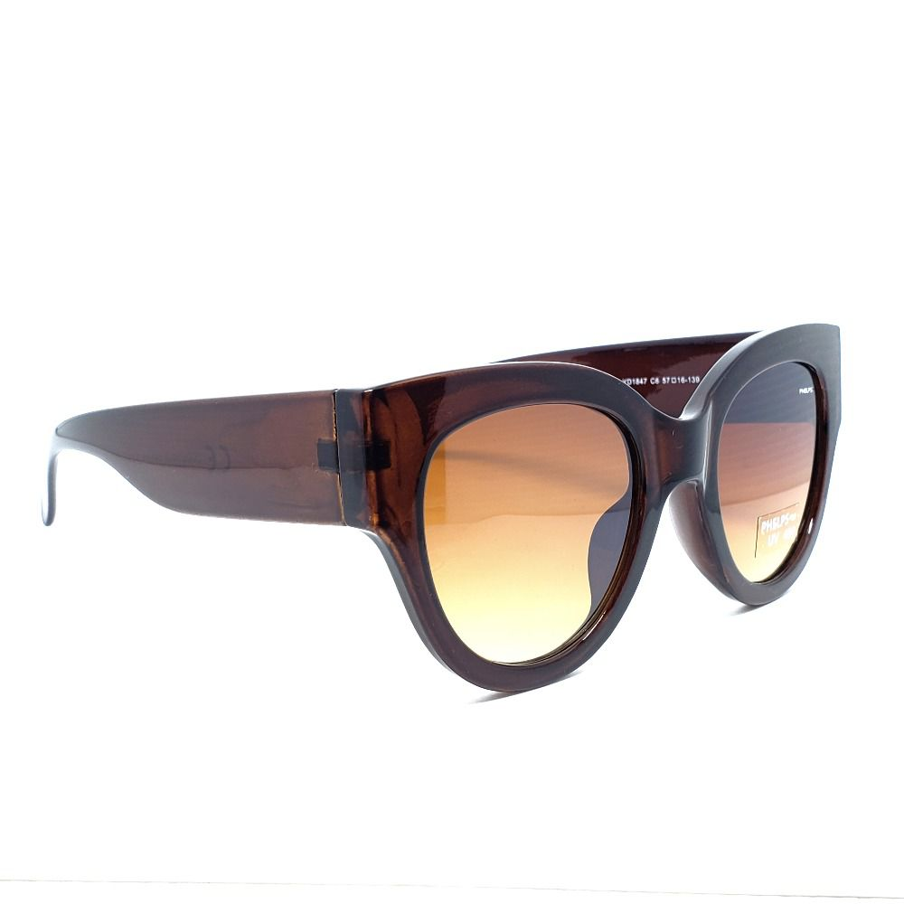 147fdc3bb ... Óculos de Sol Phelps - Marrom Large - Lahe Calçados