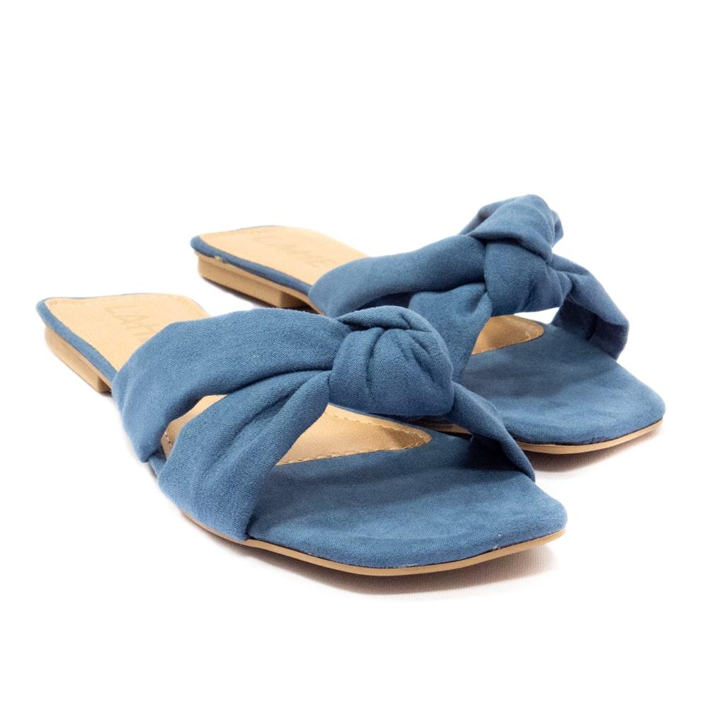 Rasteirinha Karine - Azul