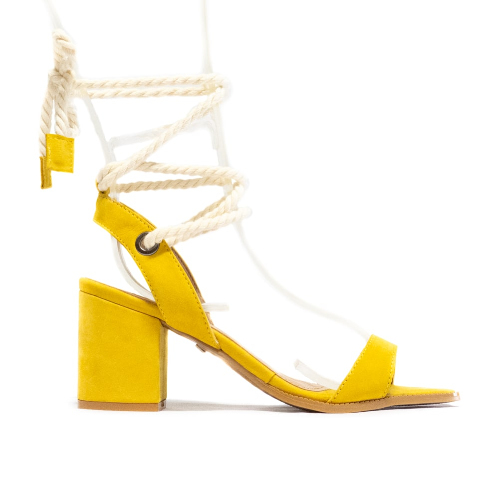 Sandália Ayla - Amarelo