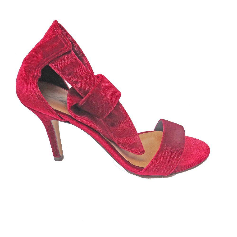 Sandália de amarração - Marsala