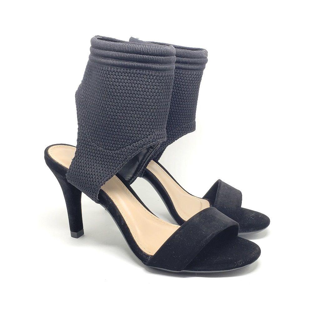 Sandália meia - Preto