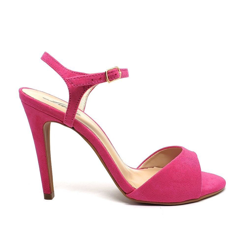 SANDALIA SINGLE SALTO FINO - PINK