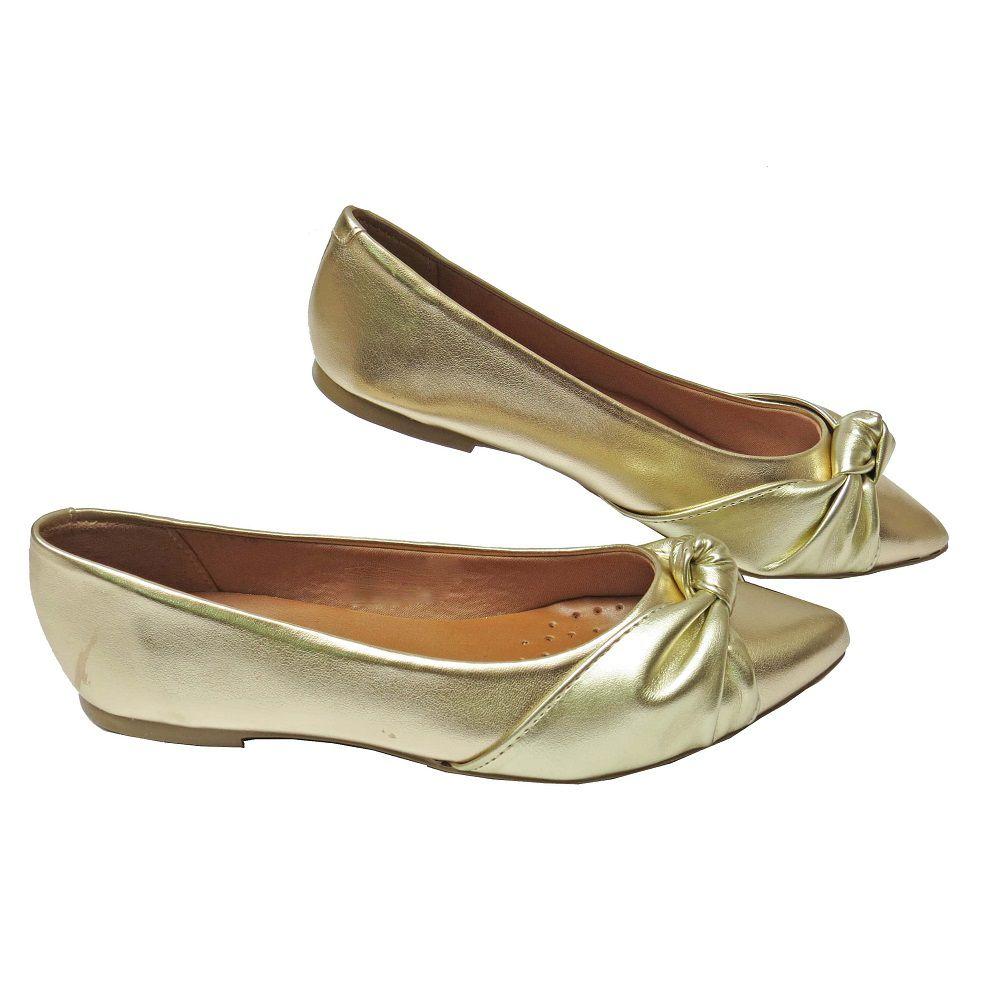 Sapatilha dourada - Ravena