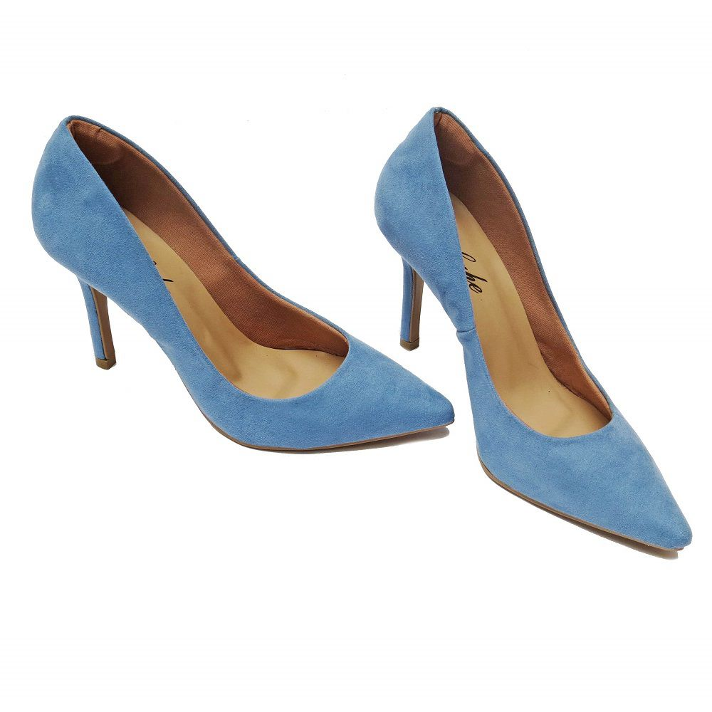 Scarpin Brianna - Azul Claro