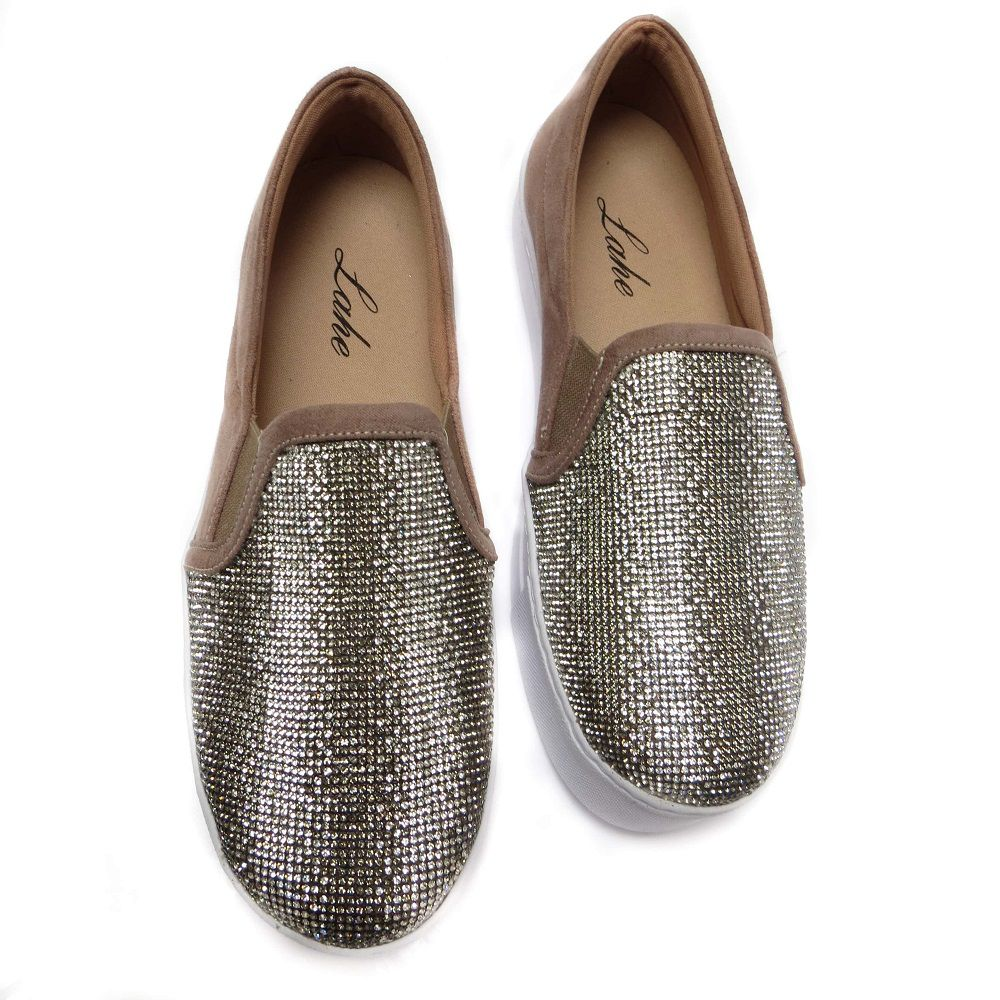 Slip On com strass Andressa