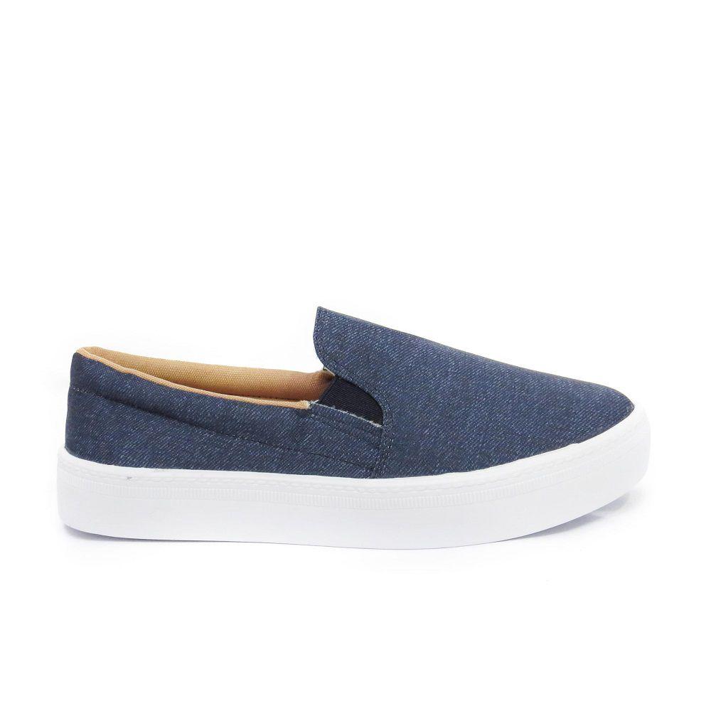 Slip On Renata- Jeans