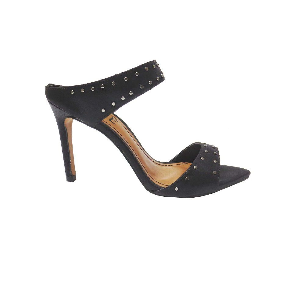 Tamanco Juliana com spikes - Preto