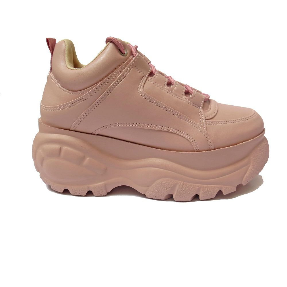 TENIS BUFALO INSPIRED - ROSA CANDY