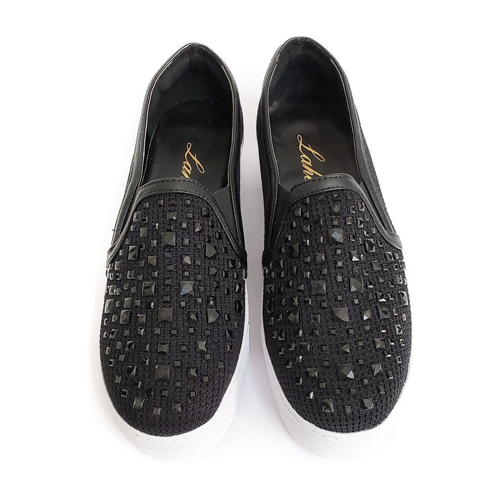 Tênis Slip On Carpi - Preto