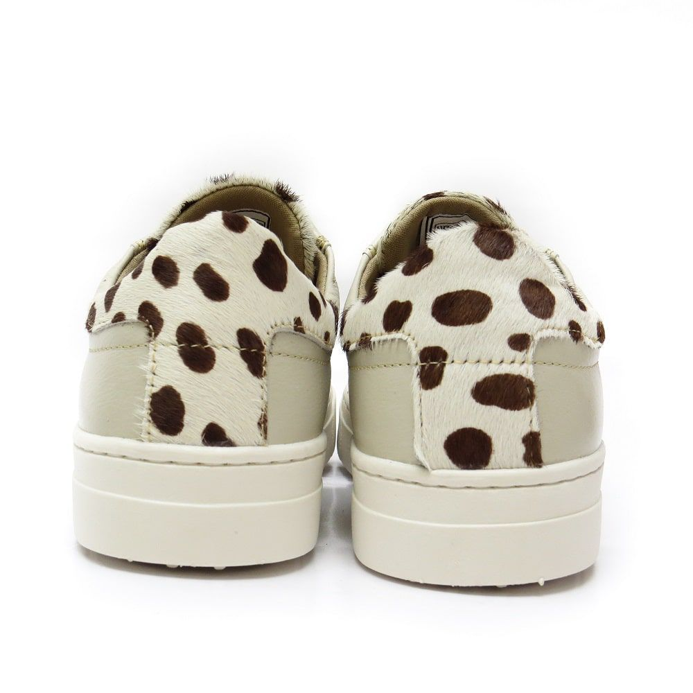 TENIS TRADICIONAL ANIMAL PRINT - COURO OFF WHITE
