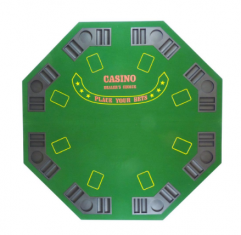 Mesa de Poker Octogonal Tabuleiro de Poker - WestPress