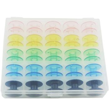 Estojo de Bobinas Plásticas Coloridas - WestPress