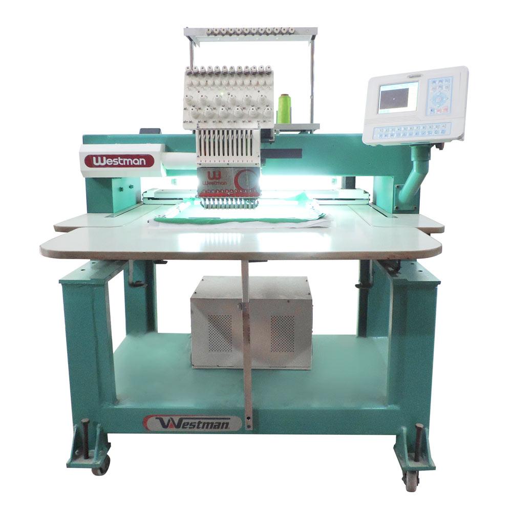 Máquina de Bordar 1 Cabeça 12 agulhas Cilindrica WM-1201-50 - Westman