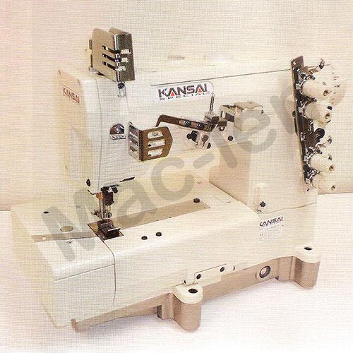 Máquina de Ponto Corrente 2 Agulhas para Ombro LX-5802L - Kansai Special