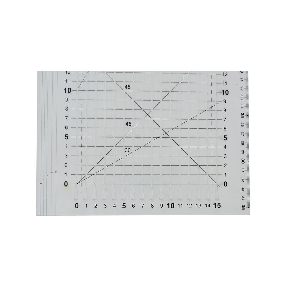Régua Desdren Reta 15x30 - WestPress